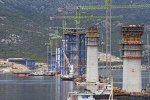 Fotografije - Izgradnja most kopno-Pelješac (7)